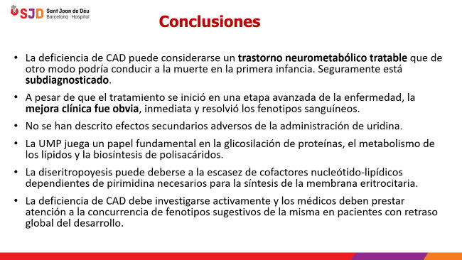 Conclusiones deficiencia de CAD
