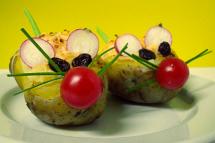 Ratoncitos de patata. Foto: La Casita Verde