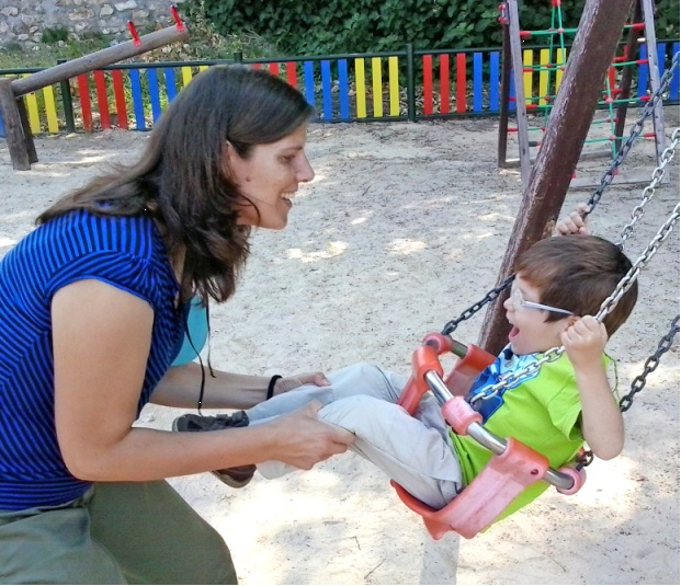 Columpio. Foto: Parques Infantiles Accessibles