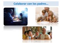 Colaborar con los padres