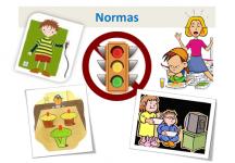 ¿Las normas, no le producen frustración al niño?