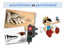 Autoritarismo vs permisividad