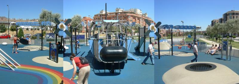 Soluciones para mejorar la accesibilidad de los parques for Parques ninos barcelona