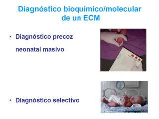 Diagnóstico bioquimico / molecular de un ECM. Imagen: HSJDBCN