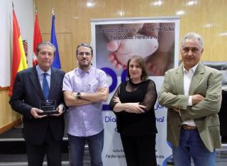 Federico Mayor Zaragoza, miembro de honor de la Federación Española de Enfermedades Metabólicas Hereditarias