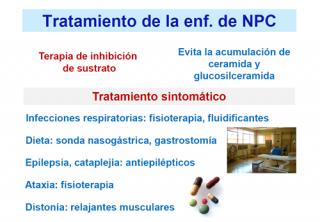 ¿Tiene tratamiento la enfermedad de NPC?