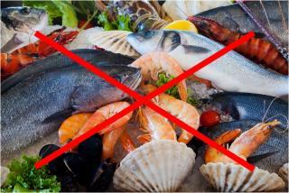 Pescado y marisco desaconsejado para trimetilaminuria