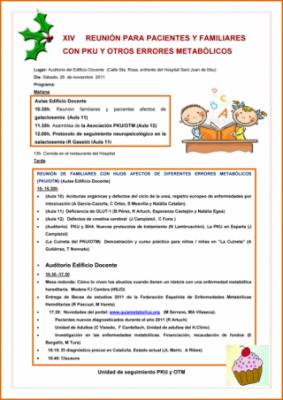 Programa de la reunión