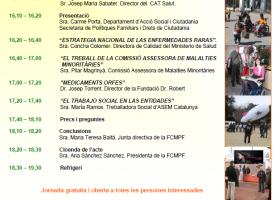 Jornada de Enfermedades Minoritarias en Cataluña