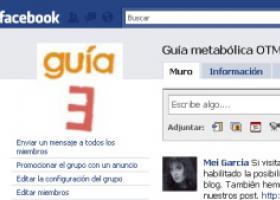 Grupo Guía metabólica en Facebook