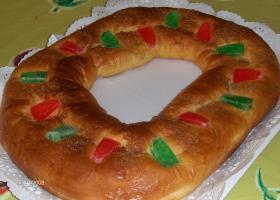 Roscón de Reyes sin galactosa