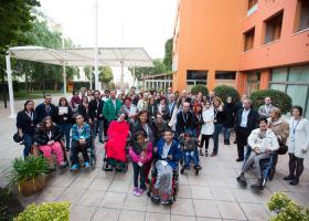 Familias en el 1er encuentro de la Asociación ENACH española. Foto: Claudia Maccioni