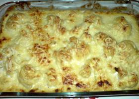 Macarrones con coliflor y brécol gratinados. Foto de Por Cocinar con Thermomix (