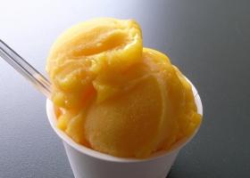 Helado de mango. Foto: Opencage.info