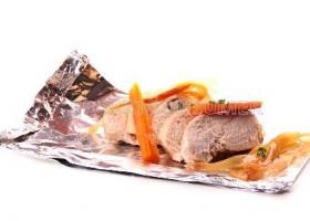 Papillote de pollo. Foto: Consumer Eroski