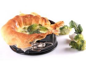 Tartaleta de brócoli. Foto: consumer Eroski