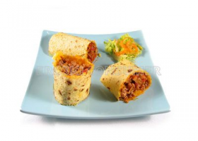 Tortitas de maiz con salteado de verduras. Imagen: Consumer Eroski