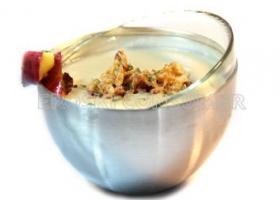 Vichyssoise de puerros y manzana. Foto: Consumer Eroski