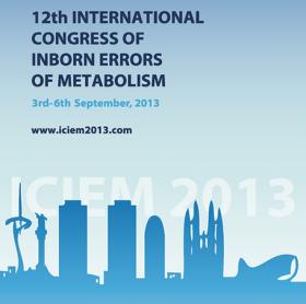 XII Congreso Internacional de Errores Congenitos del Metabolismo (ICIEM 2013)