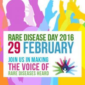 Día de las Enfermedades Raras 2016. Imagen: Rare Diasease Day