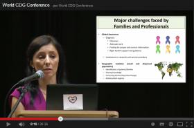Conferencia Mundial de Familias y Profesionales implicados en los CDG