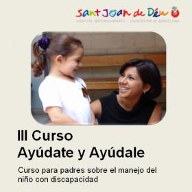 III Curso para padres sobre el manejo del niño con discapacidad