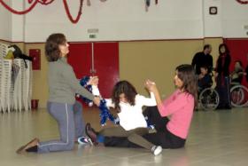 Aulas de danza para personas especiales. Foto: Mónica Silva