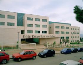 Hospital Sant Joan de Déu - Edificio docente. Foto: HSJD