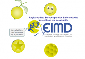 Registro y red europea de pacientes con enfermedades metabólicas causantes de in