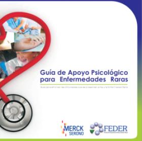 Guía de apoyo psicológico para enfermedades raras. Imagen: FEDER
