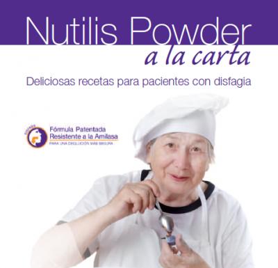 Nutilis Powder a la carta. Imagen: Nutricia