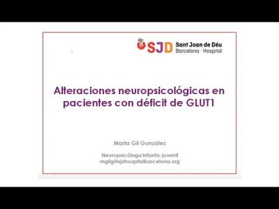 Embedded thumbnail for Jornada Virtual Glut1 2020 para familiares y pacientes (III Parte)