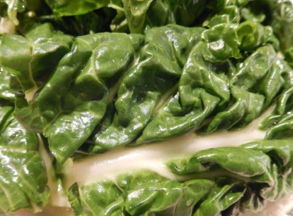 Acelgas en salsa pepitoria especial