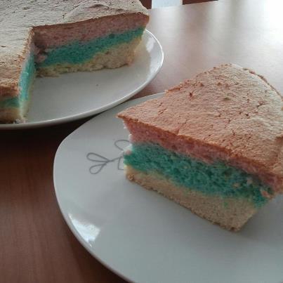 Angel Food Cake (bizcocho esponjoso sin grasa)