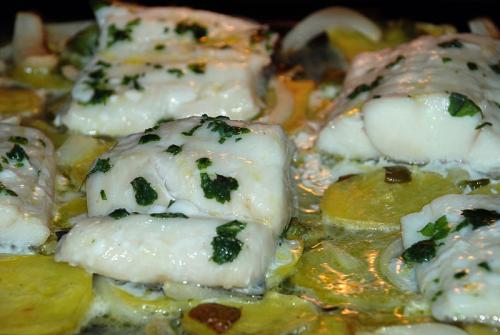 Bacalao al horno. Foto: Wikimedia