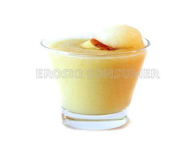 Batido veraniego de melón, pera y manzana. Imagen: Consumer Eroski