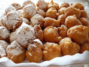 Buñuelos de manzana. Foto: juantiagues