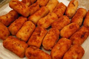 Croquetas de pollo. Foto: Su Lin