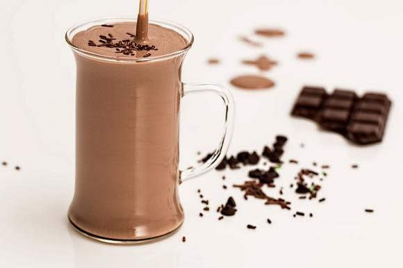 Ketobatido de chocolate