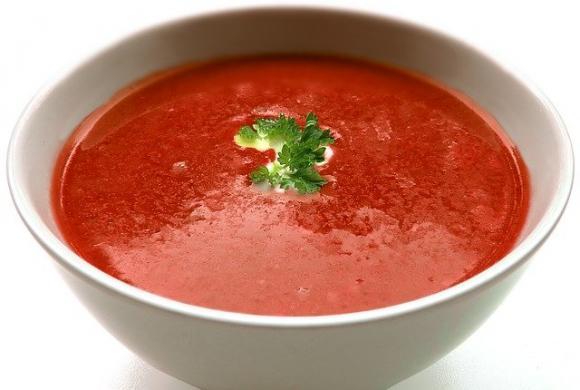 Ketosopa de tomate