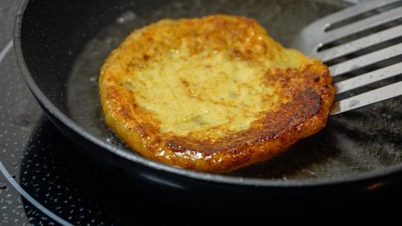 Ketowrap con queso parmesano