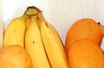 Mangos y plátanos