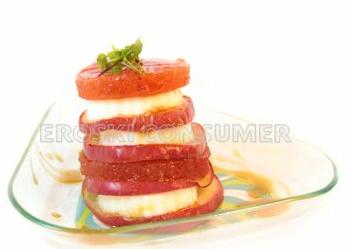 Milhojas de membrillo y manzana. Foto: Eroski Consumer
