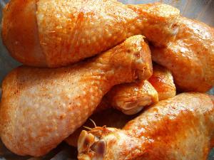 Muslo de pollo. Foto: Wikimedia