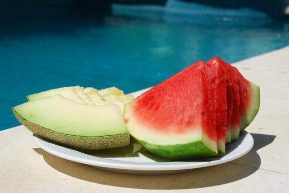 Sandía y melón