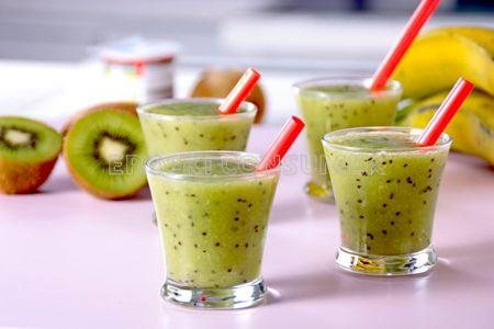 Smoothie de kiwi y plátano. Imagen: Consumer Eroski
