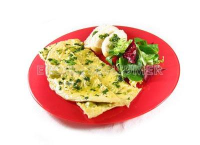 Tortilla de aceitunas. Imagen Consumer Eroski