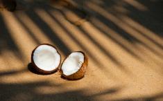 Ketobatido de chocolate y coco