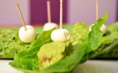 Sabanita de guacamole y queso Kiri®