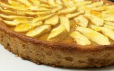 Tarta-flan de manzanas. Foto: Rico rico y sin grasa